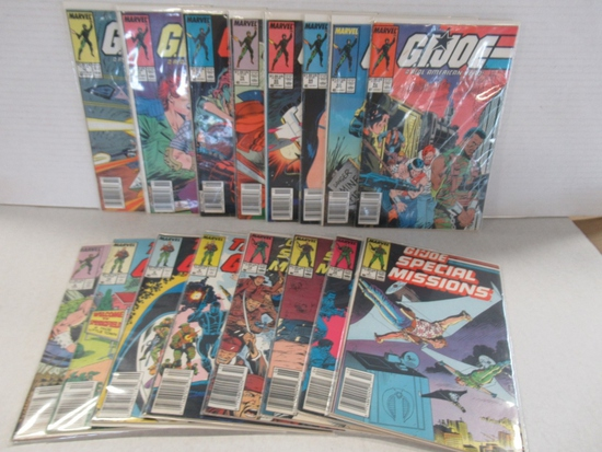 1980s GI Joe Lot of (15) Comic Books