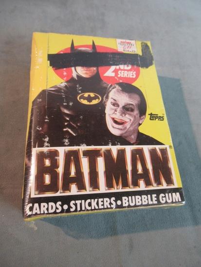 Batman (1989) Topps Card Box