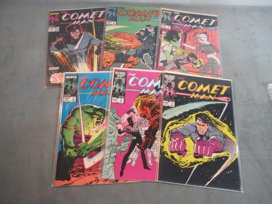 Comet Man #1-6 Marvel