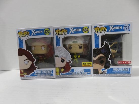 X-Men Funko Pop! Lot of (3)