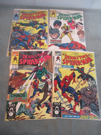 Deadly Foes of Spider-Man #1-4
