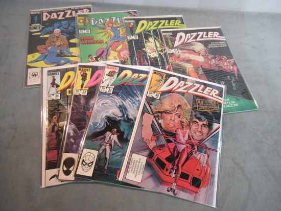 Dazzler Comic Book Lot of (8)