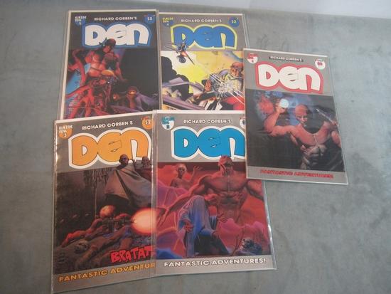 Richard Corben's Den #1-5