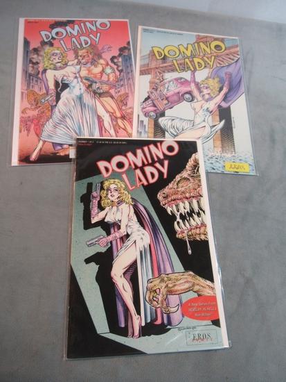 Domino Lady #1-3 Eros Comix