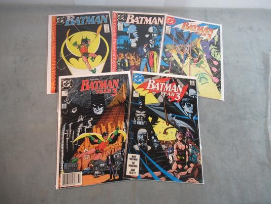 Batman #436-438 + 441-442 - Key!