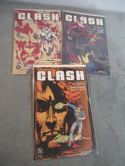 Clash #1-3 - Complete Set