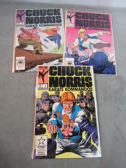 Chuck Norris Karate Kommandos #1-3