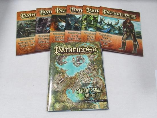 Pathfinder Serpent's Skull 1-6 Complete + More