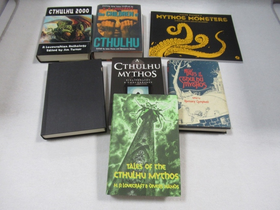 Cthulhu Hardcover/Softcover Lot of (7)