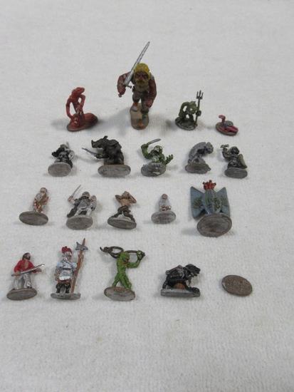 Grenadier Pewter Painted Miniature Lot