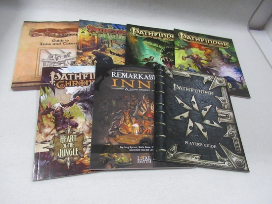 Pathfinder Campaign Books & More