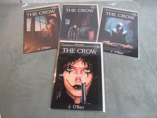 The Crow #1-4/Caliber Keys!