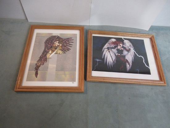 Warriors Fantasy Art Prints/Framed Lot