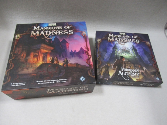 Arkham Horror Mansions of Madness Sets