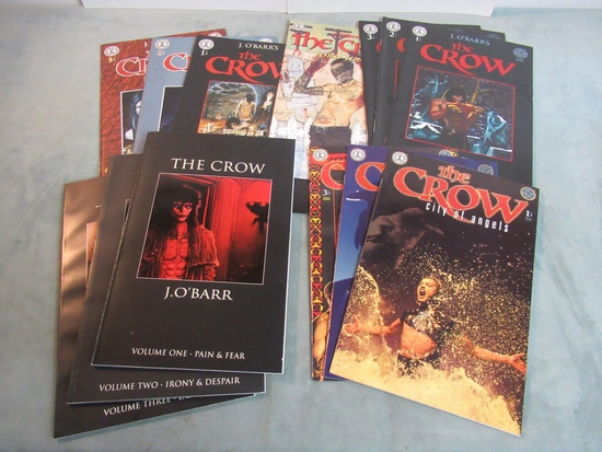 The Crow Comic Book Lot of 13