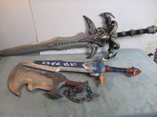 LARP/Video Game Decorative Sword Lot