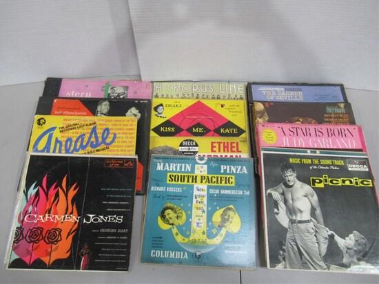 Group of Vinyl LPs/Musicals + Soundtracks