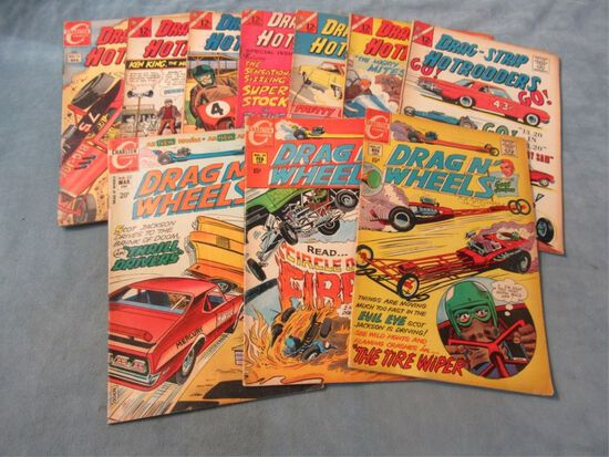 Hot Rods and Drag Racing Silver Age Comics