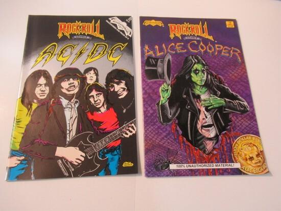 Rock 'N' Roll Comics AC/DC + Alice Cooper