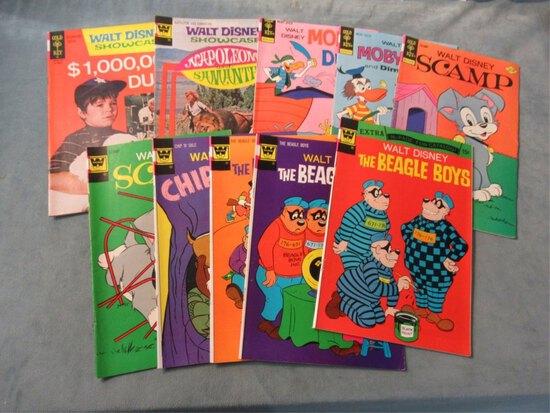 Disney Bronze Age Lot of (10) Comics