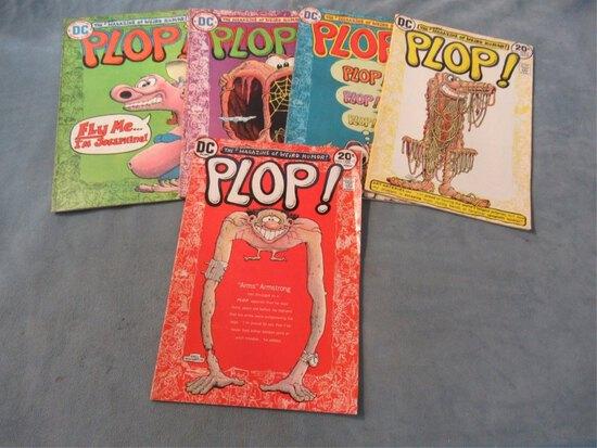 Plop! #1-4 + #6 DC/Basil Wolverton