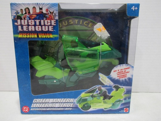 Green Lantern Justice League Motorcycle