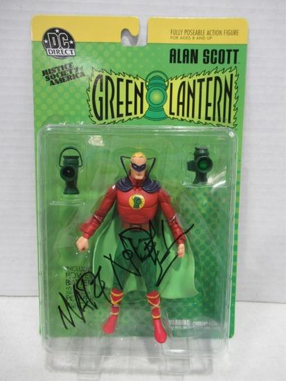 Green Lantern Figure Signed by Mart Nodell