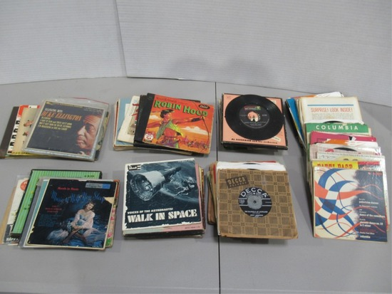 Group of Record Singles/Rare Pressings + More