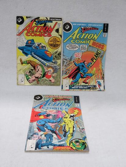 Action Comics Whitman Reprint Lot