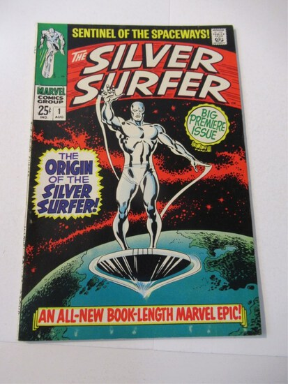 Cosmic Power: Silver to Modern Comics & Toys