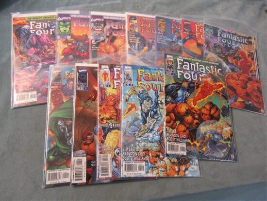 Fantastic Four #1-12 Heroes Reborn