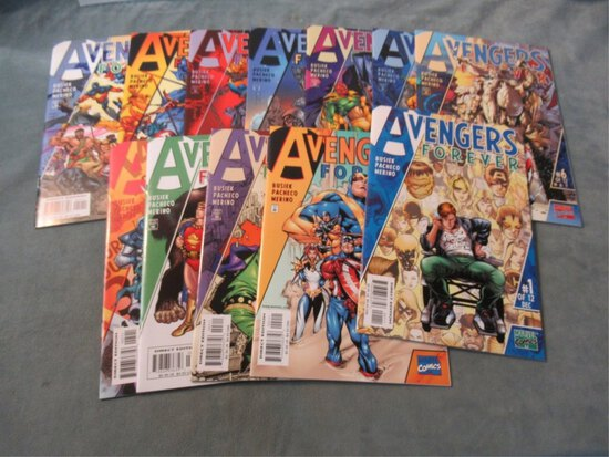 Avengers Forever #1-12
