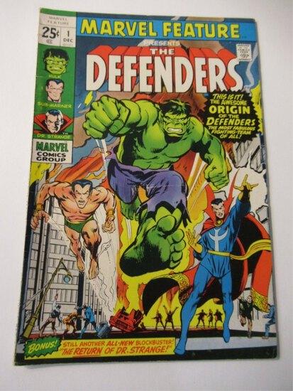 Marvel Feature #1/Key/1st Defenders