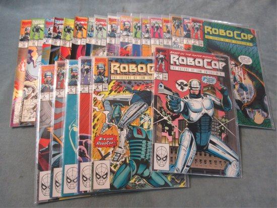Robocop (Marvel) #1-23 Full Run