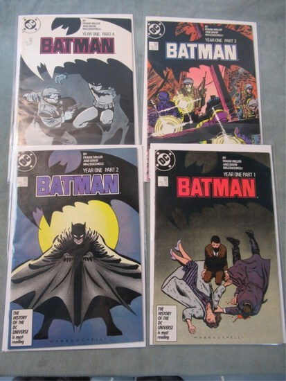 Batman Year One Complete. #404-407