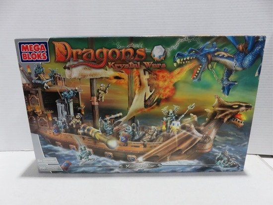 Man-O-War Dragons Mega Bloks Set