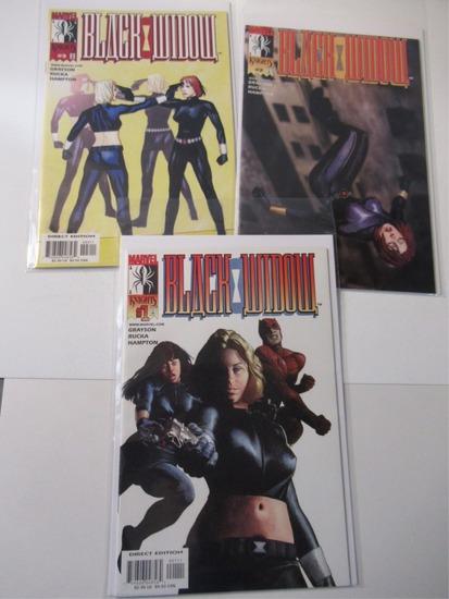 Black Widow #1-3 Marvel Knights