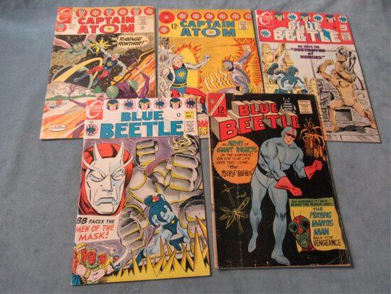 Blue Beetle/Captain Atom Silver Age Lot