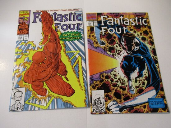 Fantastic Four #352-353/TVA/Mobius!