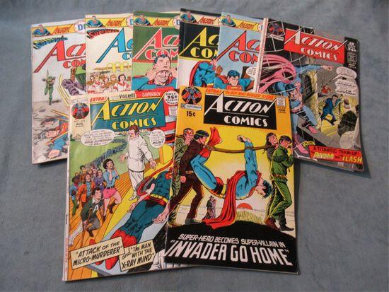 Action Comics Bronze Lot of (8)