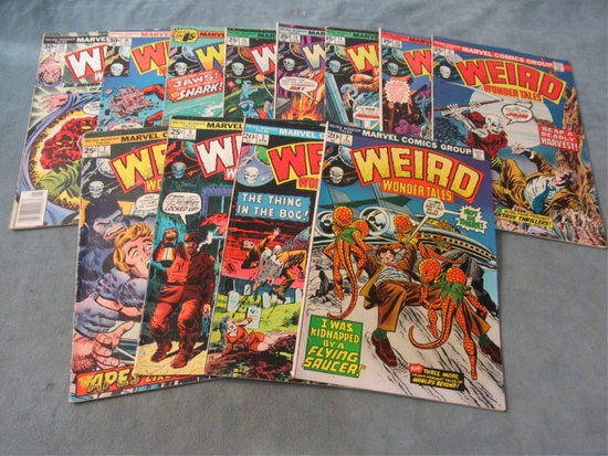 Weird Wonder Tales Marvel Comic Lot