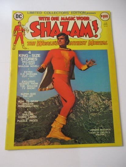 Shazam Treasury Edition C-35 Photo Cover
