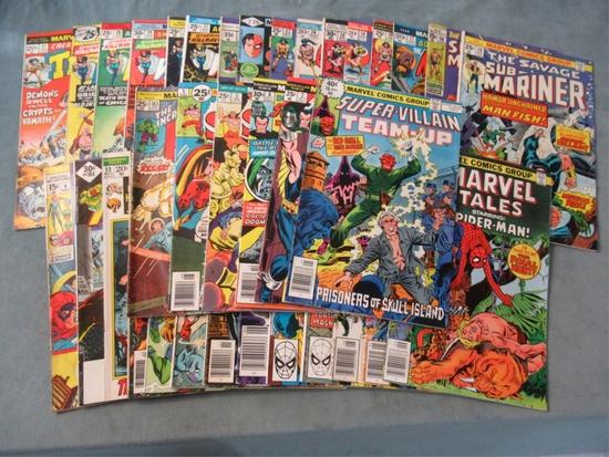 Marvel Bronze Age Comics Lot