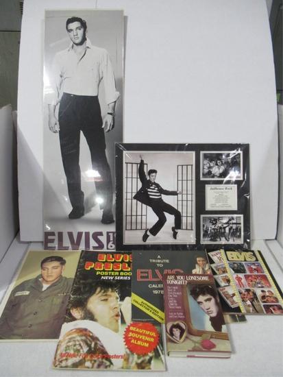 Elvis Presley Collectibles Box Lot