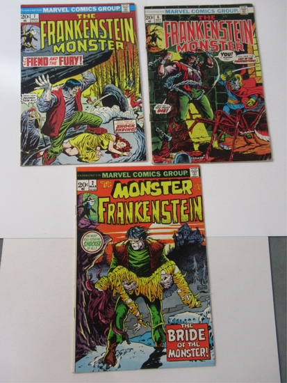 Marvel Frankenstein #2/6/7