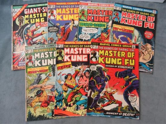 Master of Kung-Fu (Shang-Chi) Comic Lot