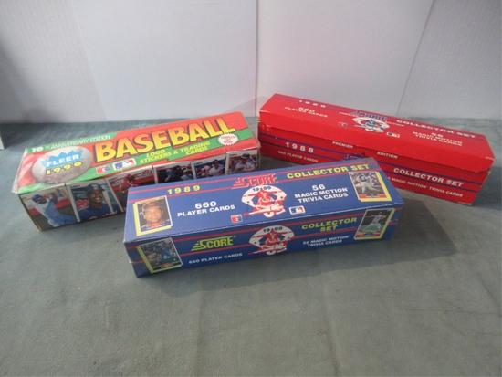 1988-1990 Baseball Card Sets Lot