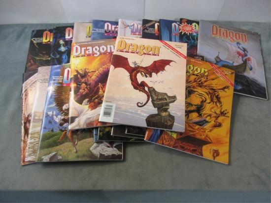 Dragon Magazine Group of (19) #168-199