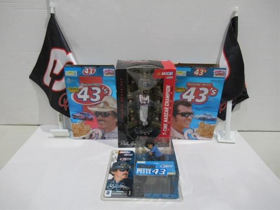 NASCAR/Racing Collectibles Box Lot