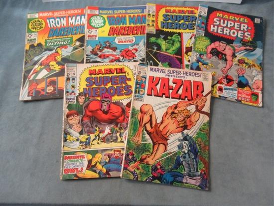 Marvel Super-Heroes! Presents Bronze Lot